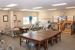 The Physical Therapist Assistant Lab has everything a student needs to learn about physical therapy