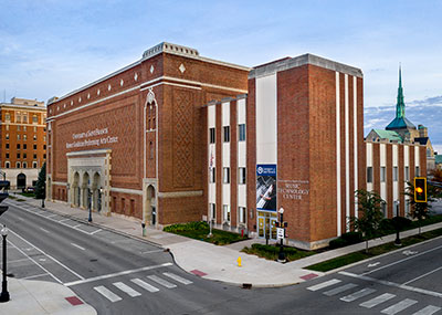 The Music Technology Center is a part of USF's downtown Fort Wayne location.